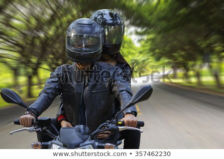 couple of motorcyclist Stock photo © adrenalina