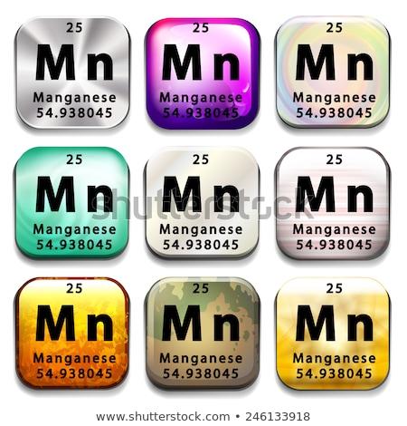 botões · abreviatura · branco · educação · química - foto stock © bluering