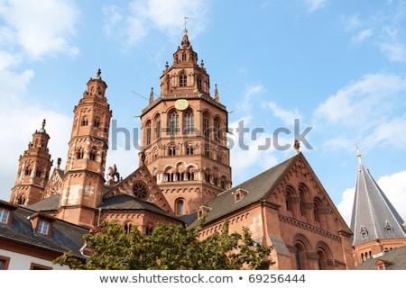 St. Martin's Cathedral in Mainz  Stock photo © meinzahn