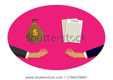 Businesswoman asking cash money Stock photo © stevanovicigor