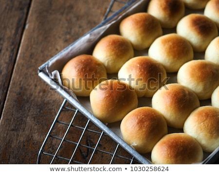 ソフト 白パン 2 パン ファブリック ストックフォト © Digifoodstock
