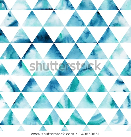 Geometry with watercolor triangle stock photo © blackmoon979