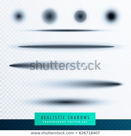 realista · papel · oscuridad · efecto · colección · arte - foto stock © sarts
