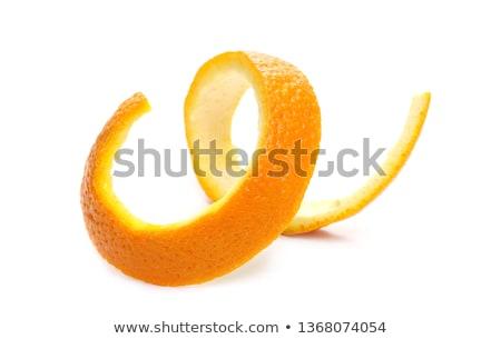 friss · hámozott · mandarin · izolált · fehér · étel - stock fotó © digifoodstock