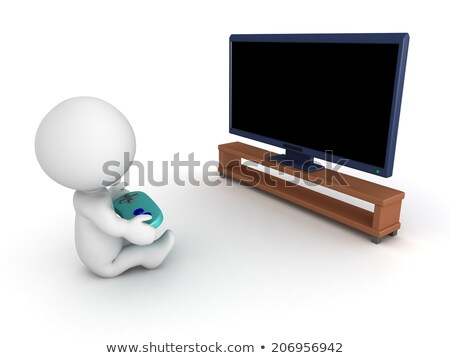 3d small people - consolation Stock photo © AnatolyM