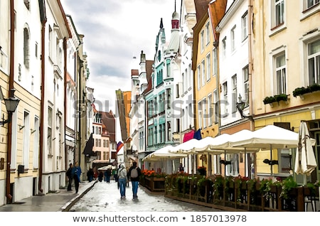 Walk to Toompea Stock photo © backyardproductions