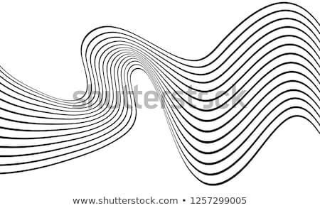 аннотация · волна · технологий · золото - Сток-фото © sarts
