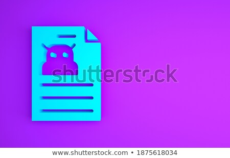 Stock fotó: üzlet · intelligencia · vágólap · 3D · irodaszerek · irodai · asztal