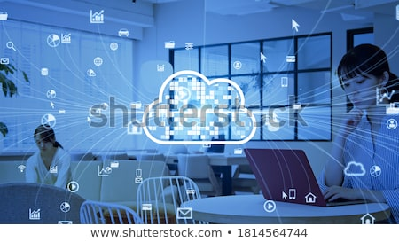 IaaS. E-Business Concept. Stock photo © tashatuvango
