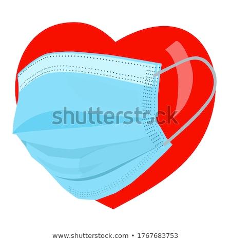 Coeur infection médicaux symbole maladie maladie Photo stock © Lightsource