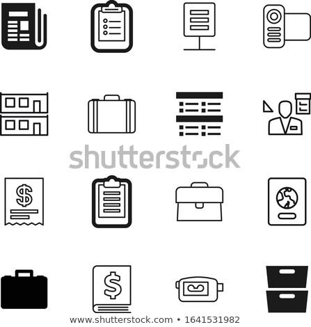 Card File with Market News. 3D. Stock photo © tashatuvango