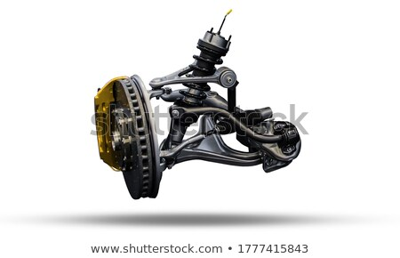 brake disk and the chassis suspension  Stock photo © Nobilior