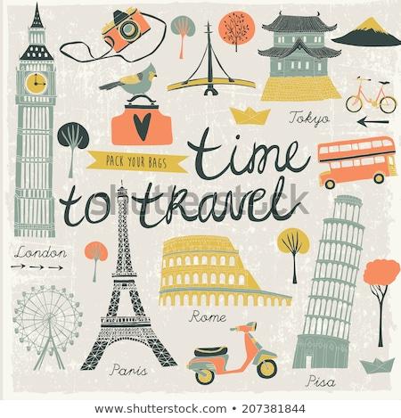 Japon temps Voyage voyage voyage vacances Photo stock © Leo_Edition