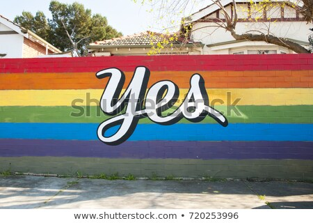 Australia voted Yes to Equality Marriage rights Stock photo © lovleah