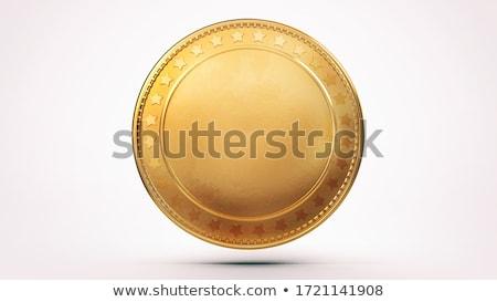 Stok fotoğraf: Para · altın · madeni · Yıldız · jackpot · kazanmak · iş