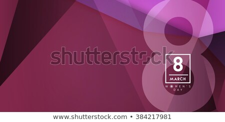 minimal clean happy women's day background Stock photo © SArts