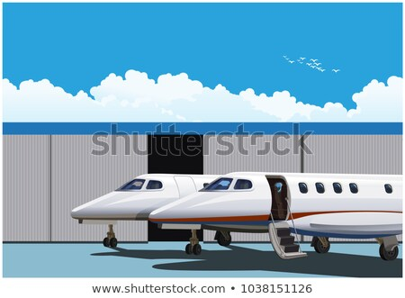стилизованный роскошь бизнеса небе скорости отпуск Сток-фото © tracer