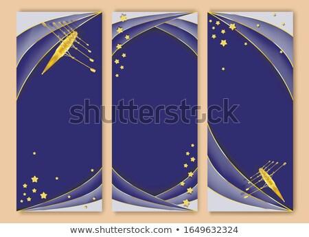 каноэ баннер лодках рафтинга Открытый Сток-фото © studioworkstock