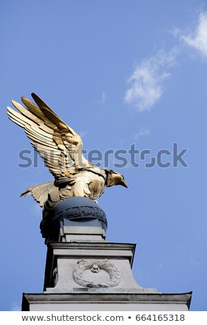 royal air force memorial victoria embankment london stock photo © is2