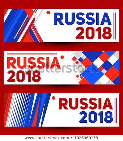 Russia banner template set for event  Stock photo © cienpies