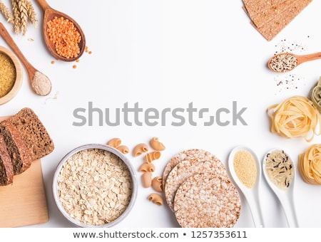Wholemeal bakery and pasta varieties Stock photo © lightkeeper