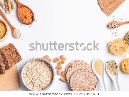 全粒小麦 · パスタ · 赤 · トマト · 食品 - ストックフォト © lightkeeper