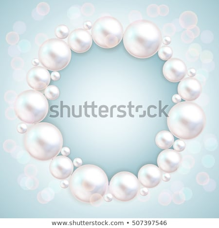 Bracelet with Blue Gemstones Vector Illustration Stock photo © robuart