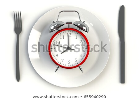 tipik · stil · 3d · illustration · mutfak · restoran - stok fotoğraf © djmilic