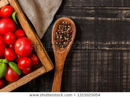 drie · tomaat · voedsel · houten · medische · laboratorium - stockfoto © denismart