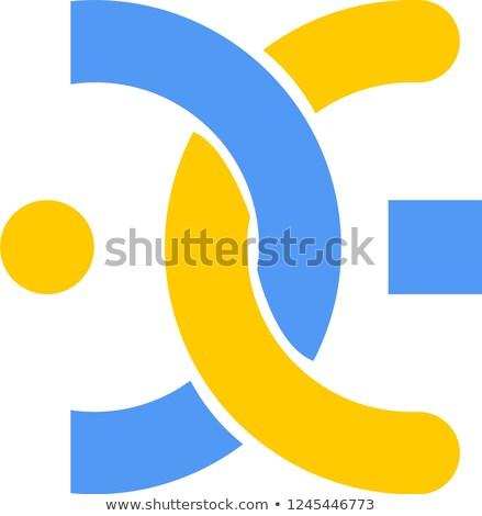 Exchange - Rightbtc. The Crypto Coins or Cryptocurrency Logo. Stock photo © tashatuvango