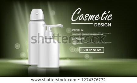 Cosmético garrafa bandeira vetor luxo luz Foto stock © pikepicture