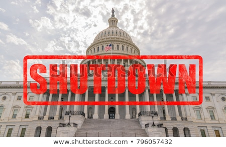 Government Shutdown USA Stock photo © Lightsource