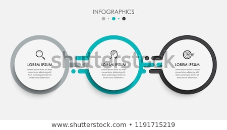 Stock photo: Three vector labels