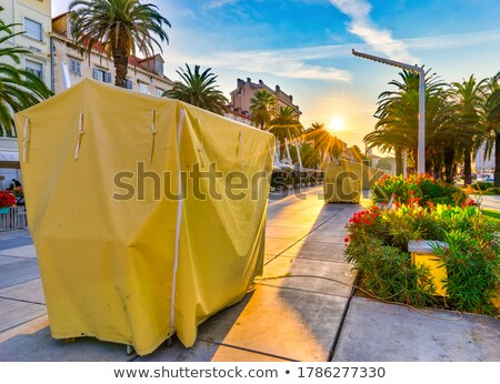 City of Split morning view from Riva Stock photo © xbrchx