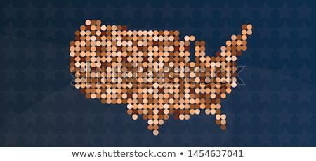 Diversidad América Estados Unidos símbolo diverso multicultural Foto stock © Lightsource
