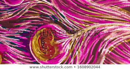 Color vintage emblema celebración nacimiento deidad Foto stock © netkov1