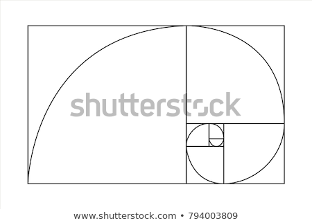 Golden Ratio, Fibonacci Sequence. Stock photo © olivier_le_moal