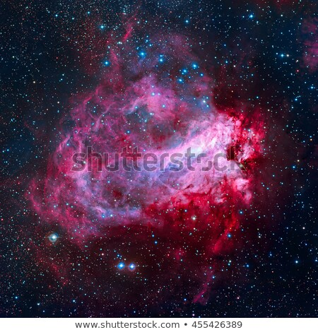 The Omega Nebula is an region in the constellation Sagittarius. Stock photo © NASA_images
