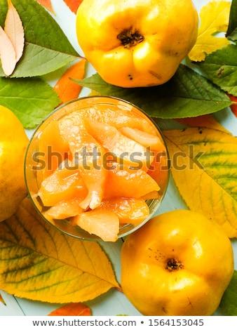 яблоко айва десерта мелкий Сток-фото © AGfoto