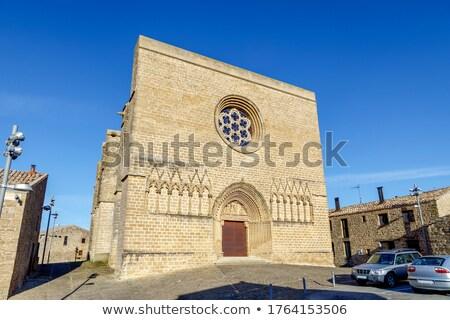 крепость Испания средний возраст замок Сток-фото © borisb17