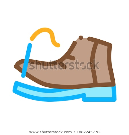 Torn Shoe Thread Icon Vector Outline Illustration Stock photo © pikepicture