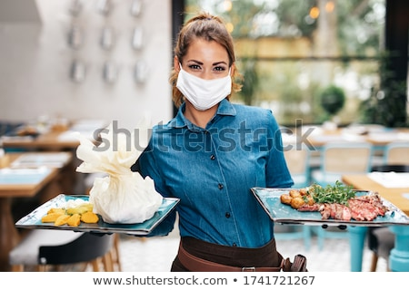 catering services in restaurant. Stock photo © ruslanshramko