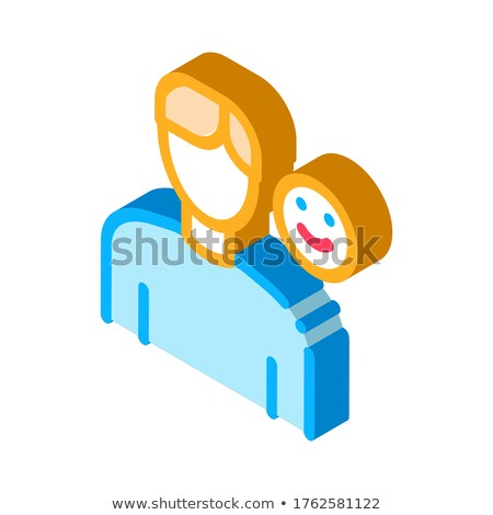 Positive Mood Human Talent isometric icon vector illustration Stock photo © pikepicture