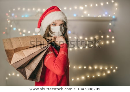 Woman in mask with garland Stock photo © Paha_L