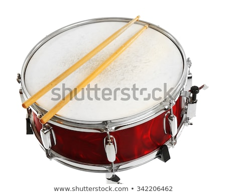 Red and Black Snare Drum Stock photo © mkm3