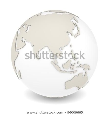 Foto stock: Terra · rotação · ver · laranja · concha · projeto