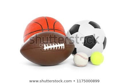 a group of sports balls on a white background stock photo © ozaiachin