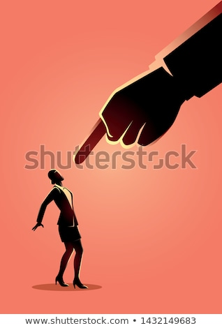 businesswoman pointing the blame stock photo © photography33