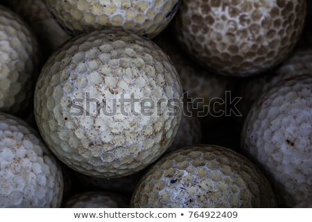Vieux sale balle de golf artificielle gazon texture Photo stock © RuslanOmega
