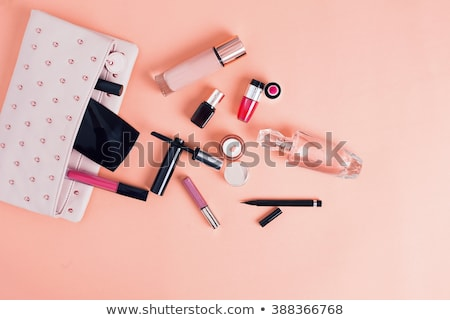 Woman with make-up bag Stock photo © photography33